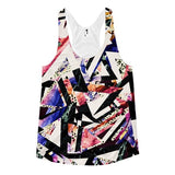 All over print - Psychadelic ay Women's racerback tank - Hutsylife - 1