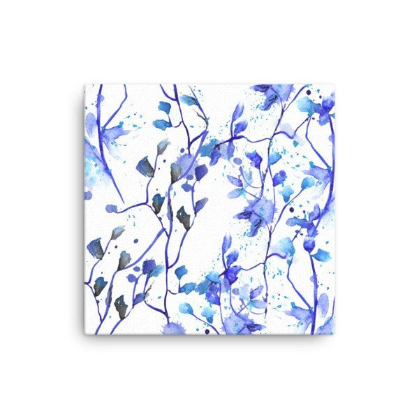 Blue Vine Canvas - Hutsylife - 1
