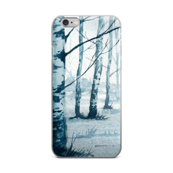 Birch tree iPhone case - Hutsylife - 2