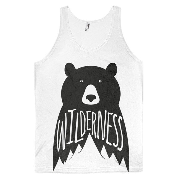 Wilderness Classic fit men's tank top - Hutsylife