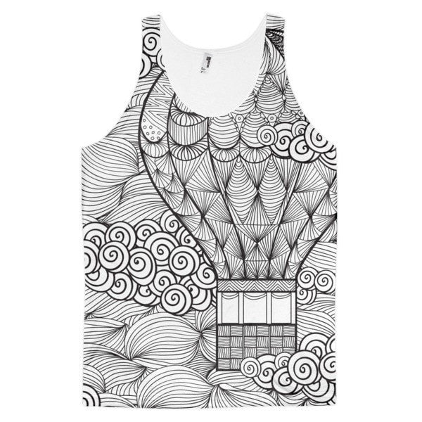 All over print - Hot air Balloon Classic fit men's tank top
