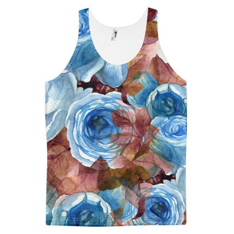 All over print - Autumn rose Classic fit men's tank top