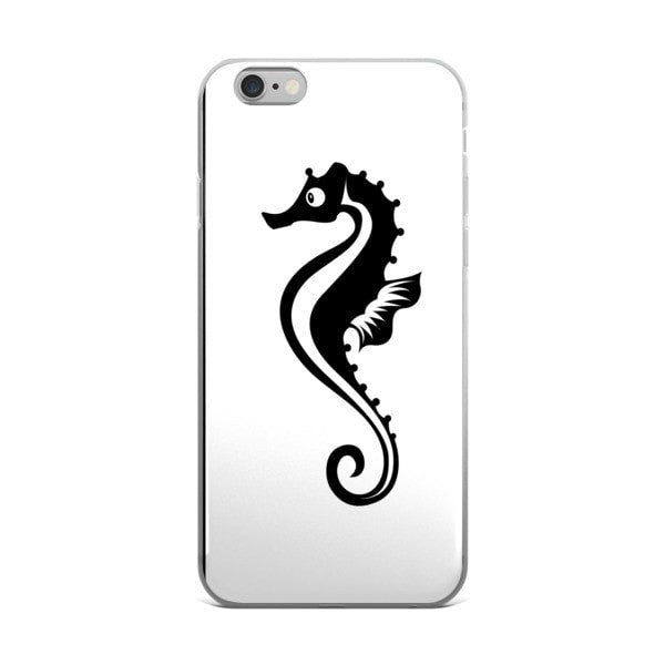 Black Seahorse iPhone case - Hutsylife - 2
