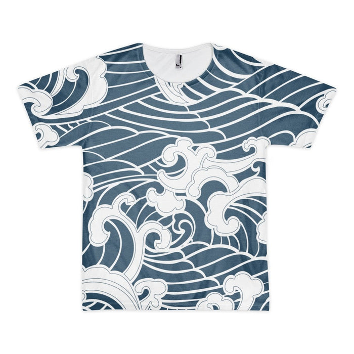 All over print - Kawaii Wave Short sleeve men's t-shirt