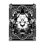 Lion abyss Poster - Hutsylife - 6