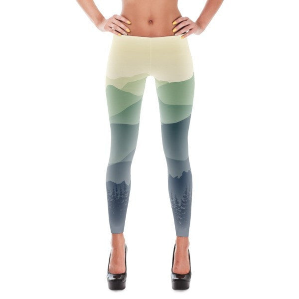 Mountain fog Leggings - Hutsylife - 1