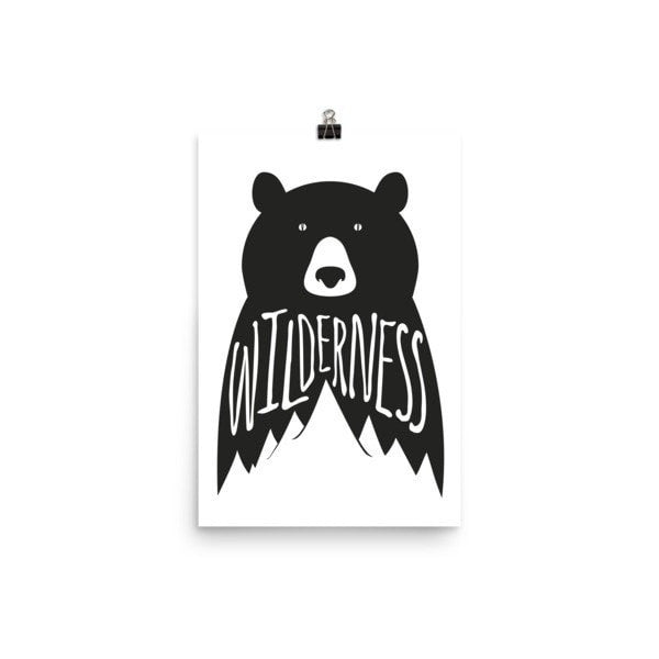 Wilderness Poster - Hutsylife - 7