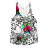 All over print - Ethnic flow Women's racerback tank - Hutsylife - 1