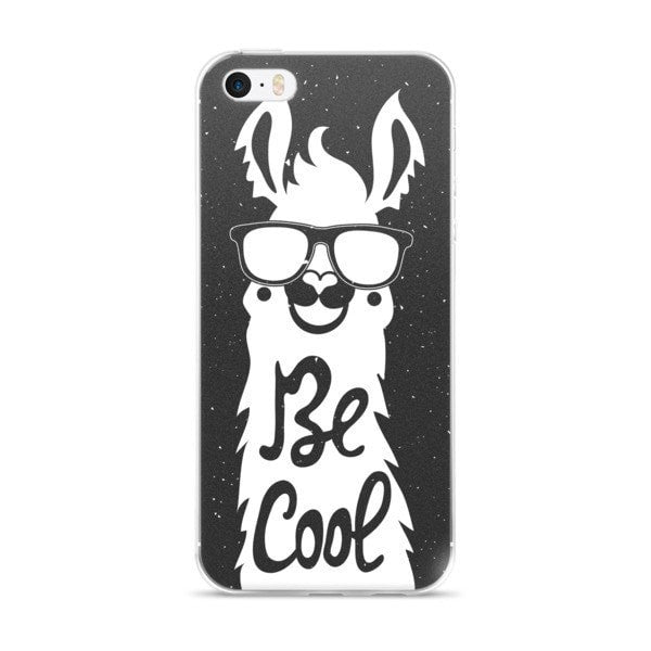 Cool llama Night iPhone case - Hutsylife - 1