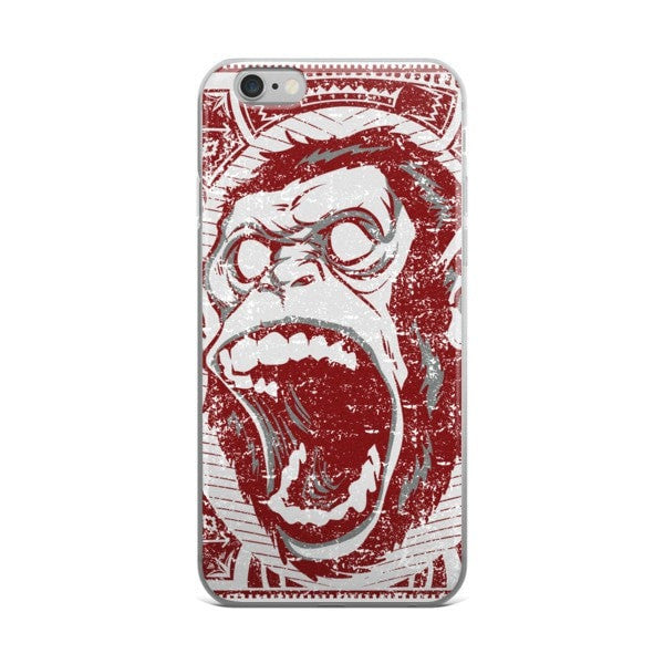 Angry Monkey iPhone case - Hutsylife - 2