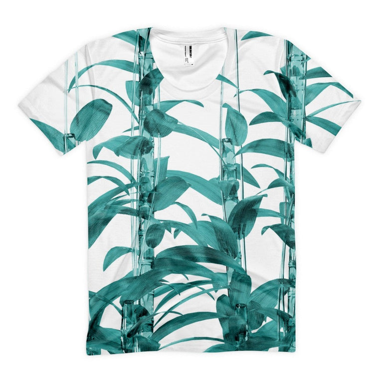 All over print - Transparent Bamboo Women's sublimation t-shirt