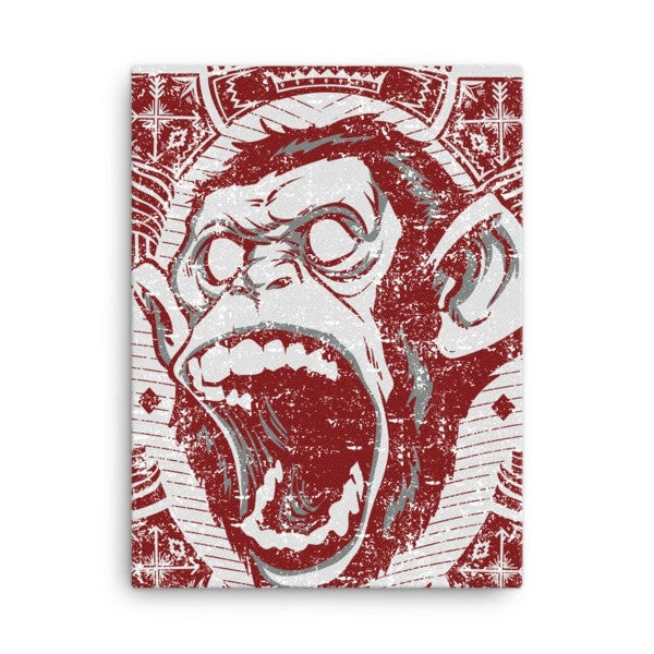 Angry monkey Canvas - Hutsylife - 3