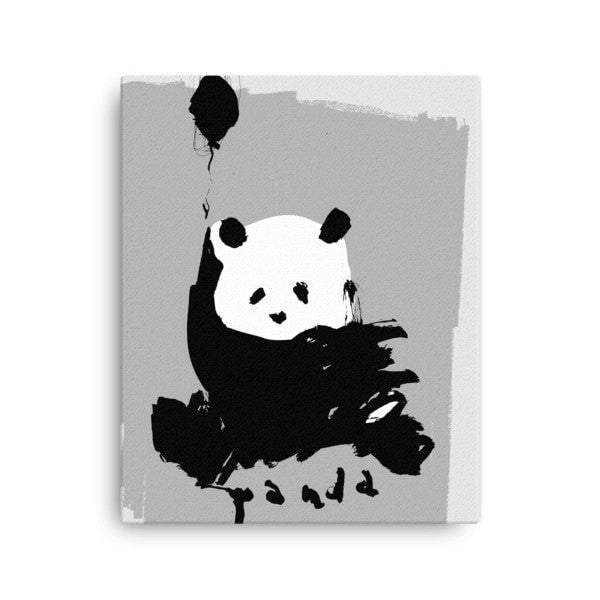 Flying Panda Canvas - Hutsylife - 1