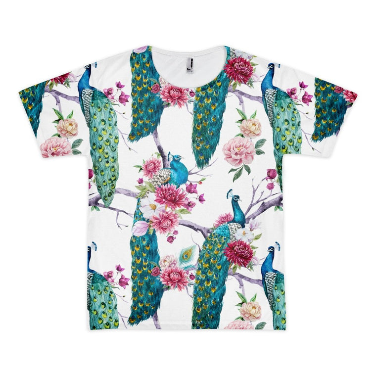 All over print - Peacock stand Short sleeve men's t-shirt