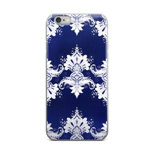 Blue white flow iPhone case - Hutsylife - 2