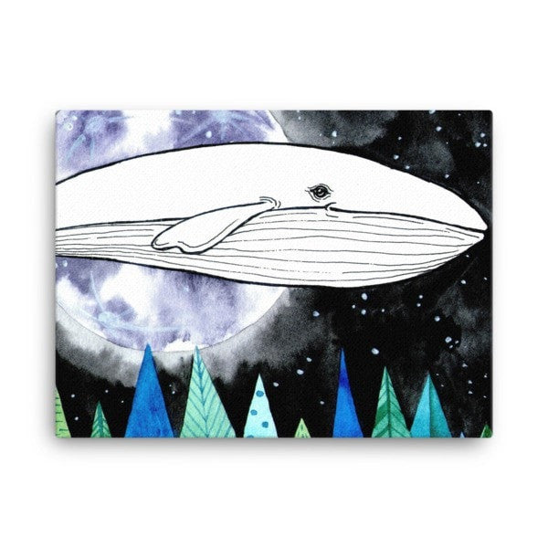 Lost whale Canvas - Hutsylife - 3