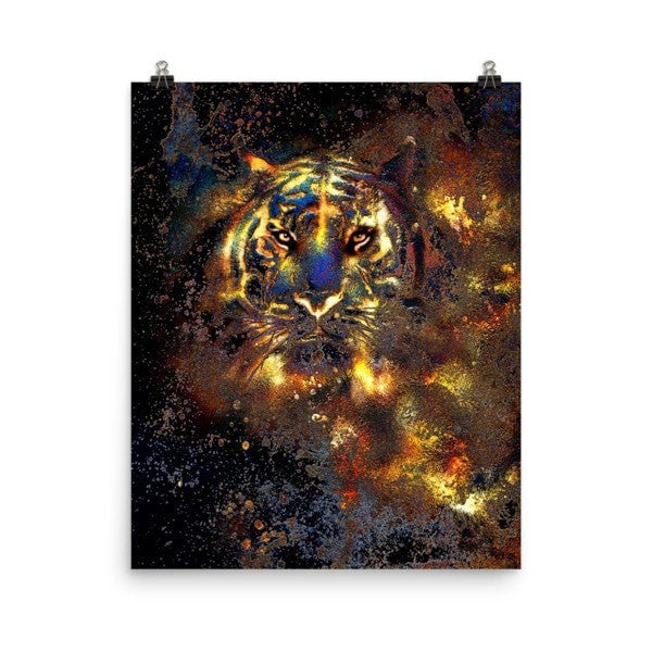 Traillin Tiger Poster - Hutsylife - 9