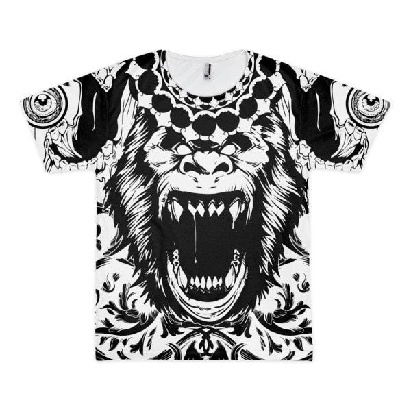 Gorilla's Roar Short sleeve men's t-shirt - Hutsylife