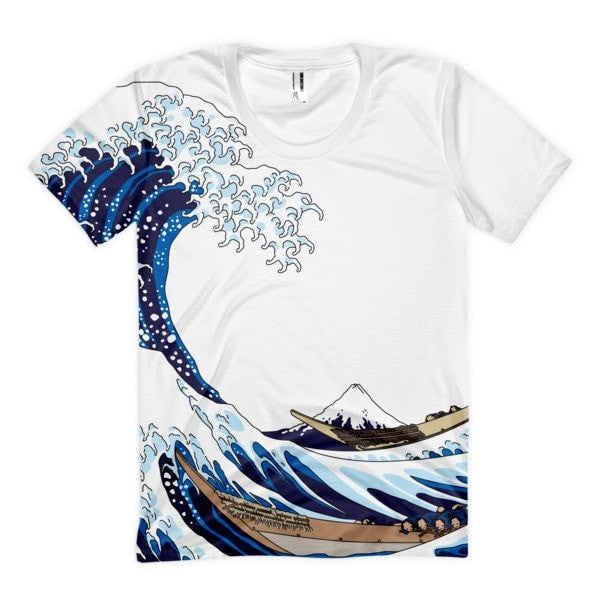 Waves Women's Sublimation T-Shirt - Hutsylife