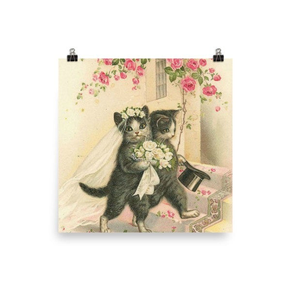 Married cat Poster