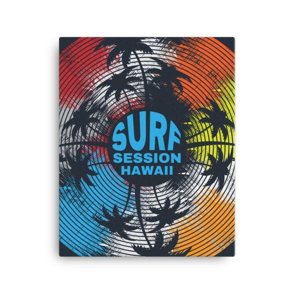 Surf session Canvas - Hutsylife - 2