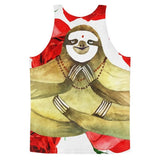 All over print - Yoga Sloth Classic fit men's tank top - Hutsylife - 2