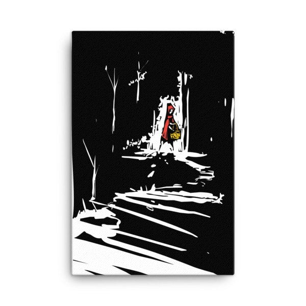 Red riding hood Canvas - Hutsylife - 4