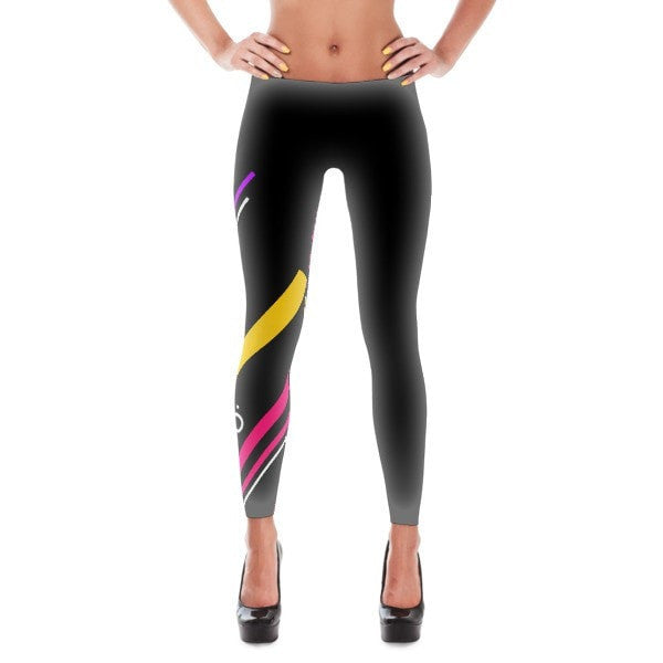 Back to the 80's Leggings - Hutsylife - 1