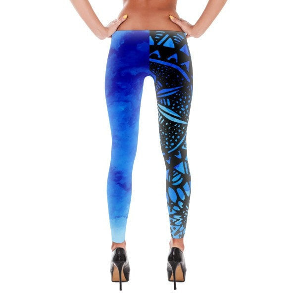 Dark blue Veritas Leggings - Hutsylife - 2