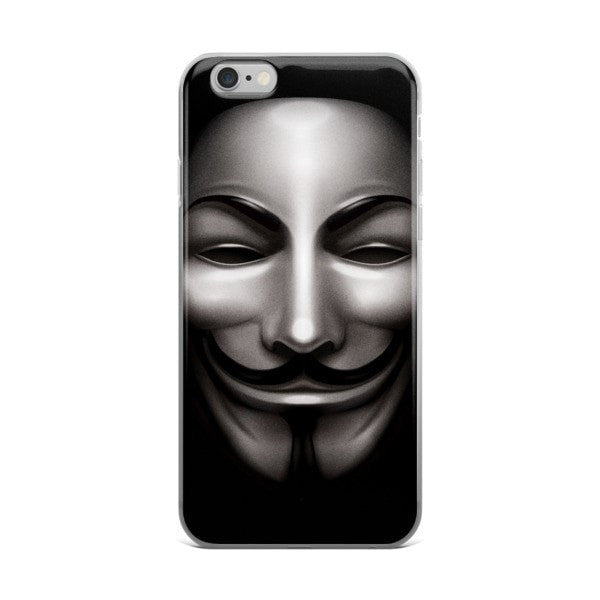 Anon Black iPhone case - Hutsylife - 2
