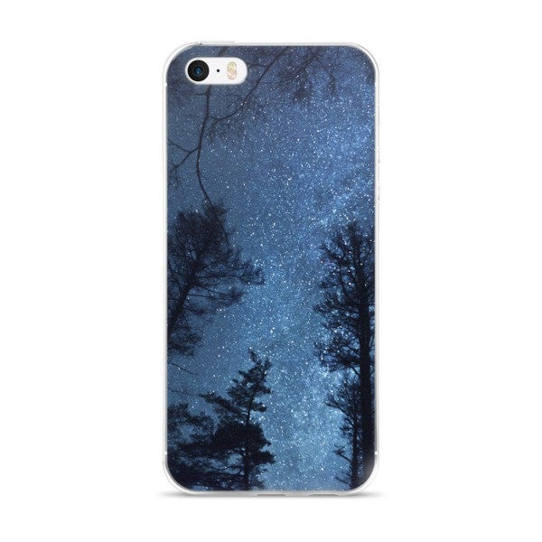 Night tree iPhone case
