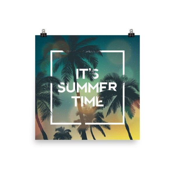 Summer time Poster