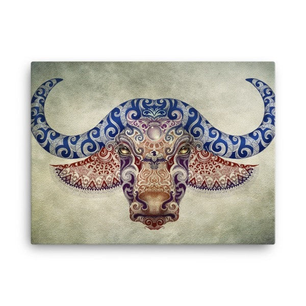 Bull life Canvas - Hutsylife - 1
