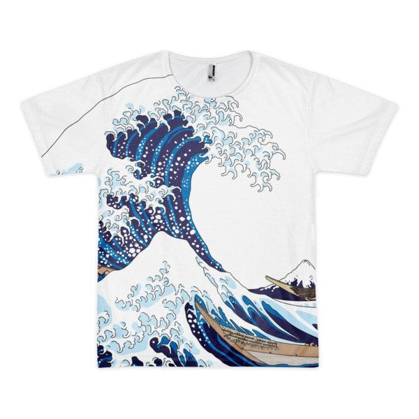 Short sleeve Waves men's t-shirt - Hutsylife