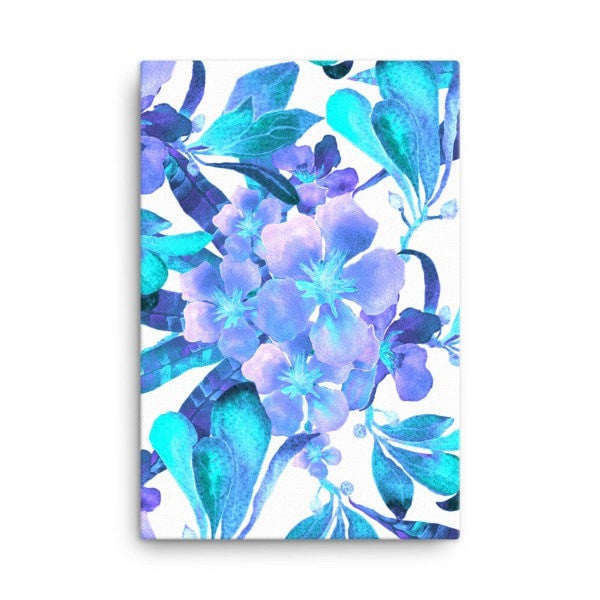 Light blue flow Canvas - Hutsylife - 4