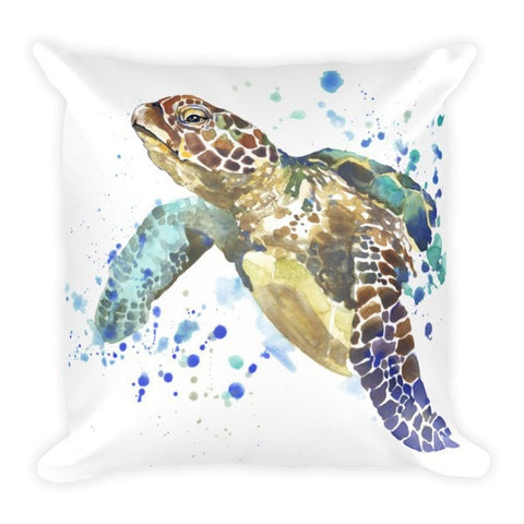 Turtle wave Pillowcase