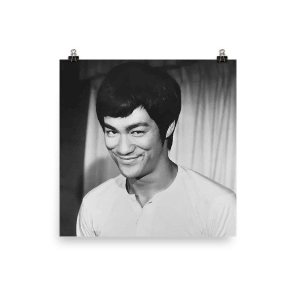 Bruce Lee Poster - Hutsylife - 1