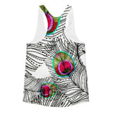 All over print - Ethnic flow Women's racerback tank - Hutsylife - 2