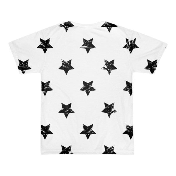All over print - White star Short sleeve men's t-shirt - Hutsylife - 2