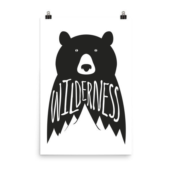 Wilderness Poster - Hutsylife - 8