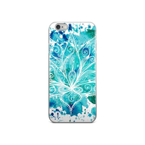 Boho lotus iPhone case - Hutsylife - 3