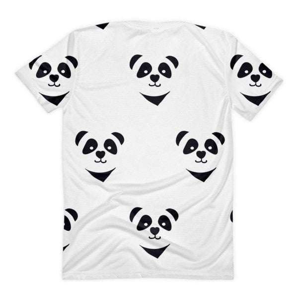 All over print - Panda express Women's Sublimation T-Shirt - Hutsylife - 2