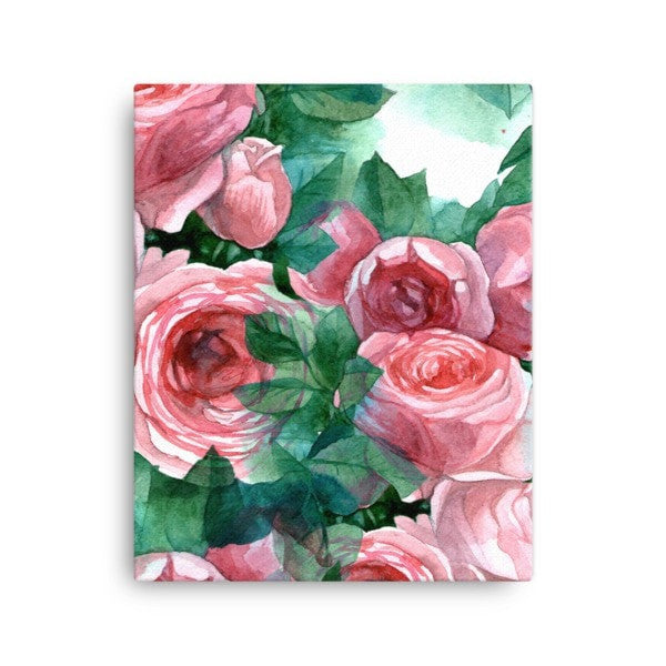 Pink rose Canvas - Hutsylife - 2