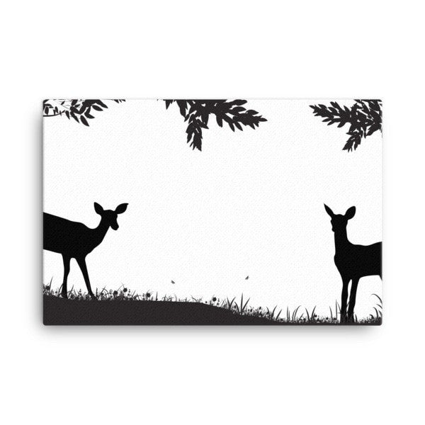 Lookout deer Canvas - Hutsylife - 4