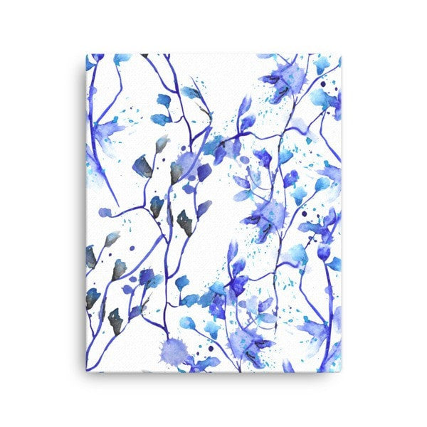Blue Vine Canvas - Hutsylife - 2
