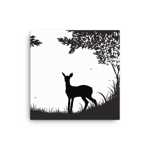 Lookout deer Canvas - Hutsylife - 1
