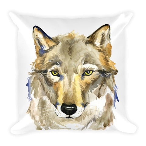 Wolf's gaze Pillow