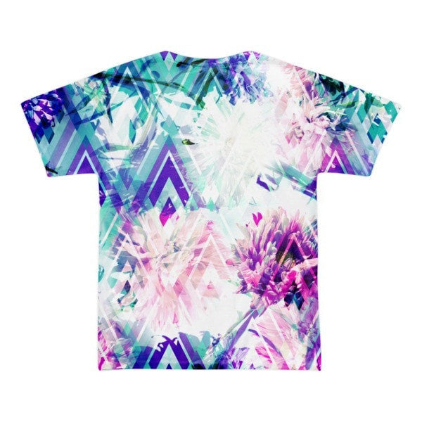 All over print - Spring floral Short sleeve men's t-shirt - Hutsylife - 2
