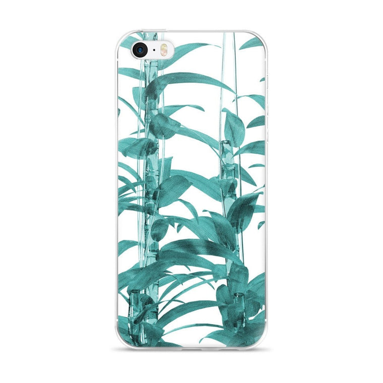 Transparent Bamboo iPhone case