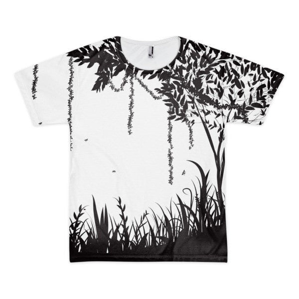 Rain forest Short sleeve men's t-shirt - Hutsylife